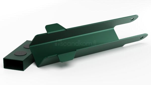 Nostosalpa käyntiportti vihreä ral 6005